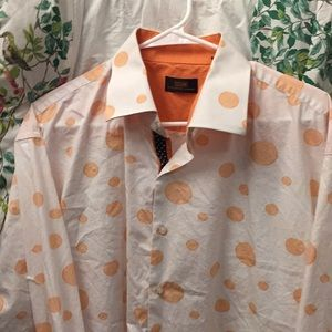 Steven Land dress shirt vtg classic fit